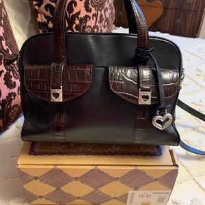 Beautiful Brighton black/chocolate purse